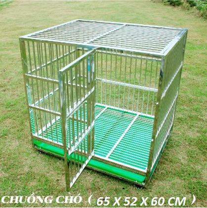 Chuồng chó inox  (Dành Cho Chó Cảnh)